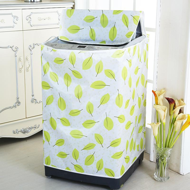 Waterproof Sun-resistant Washing Machine Cover Panasonic Impeller Fully Automatic Washing Machine Cover Roller on the Open Garden Universal Dust Cover