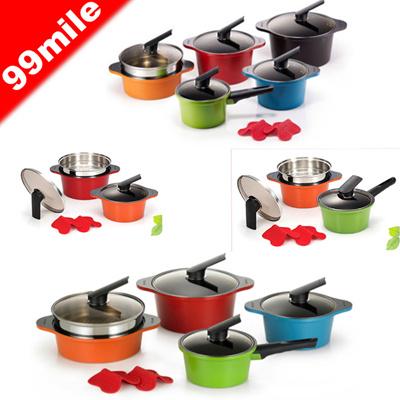 [Happycall] alumite ceramic pot set / Kitchenware / pot sets