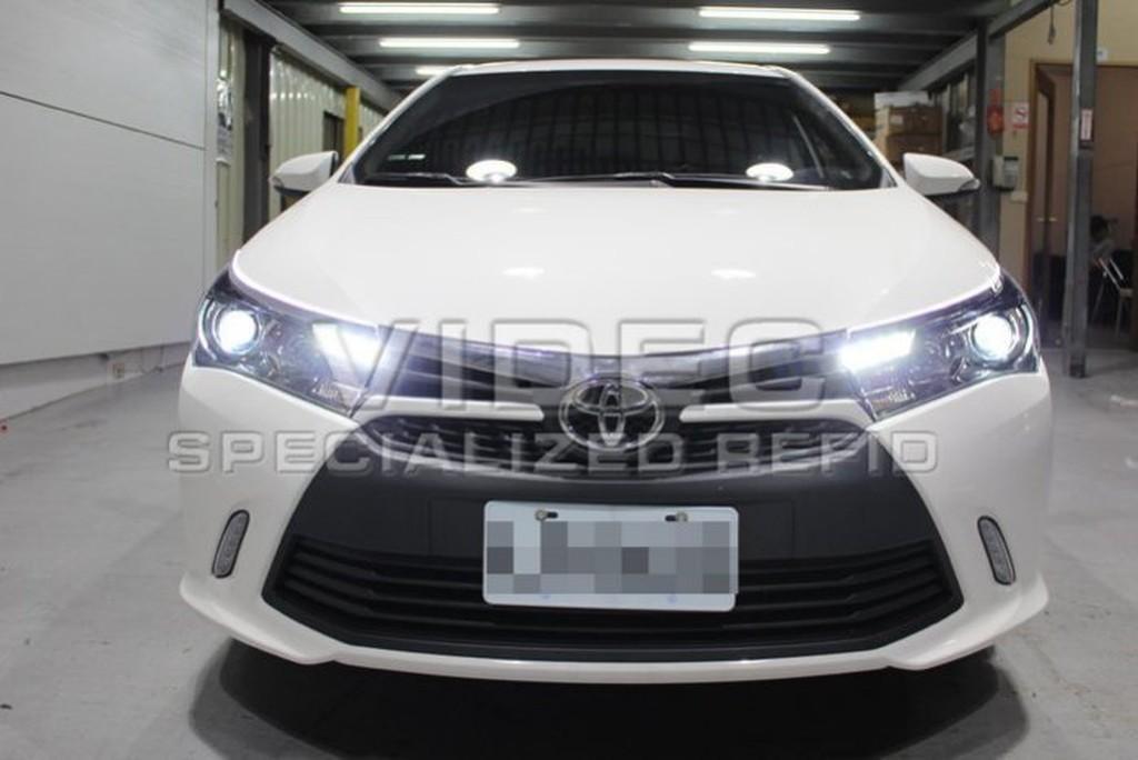 DIY商城  HID 豐田 TOYOTA 14 ALTIS 11代 原廠型 LED 大燈 總成 Z版