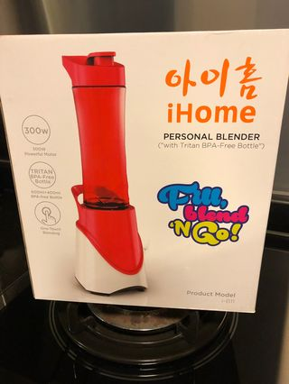 IHome Brand New Personal Blender