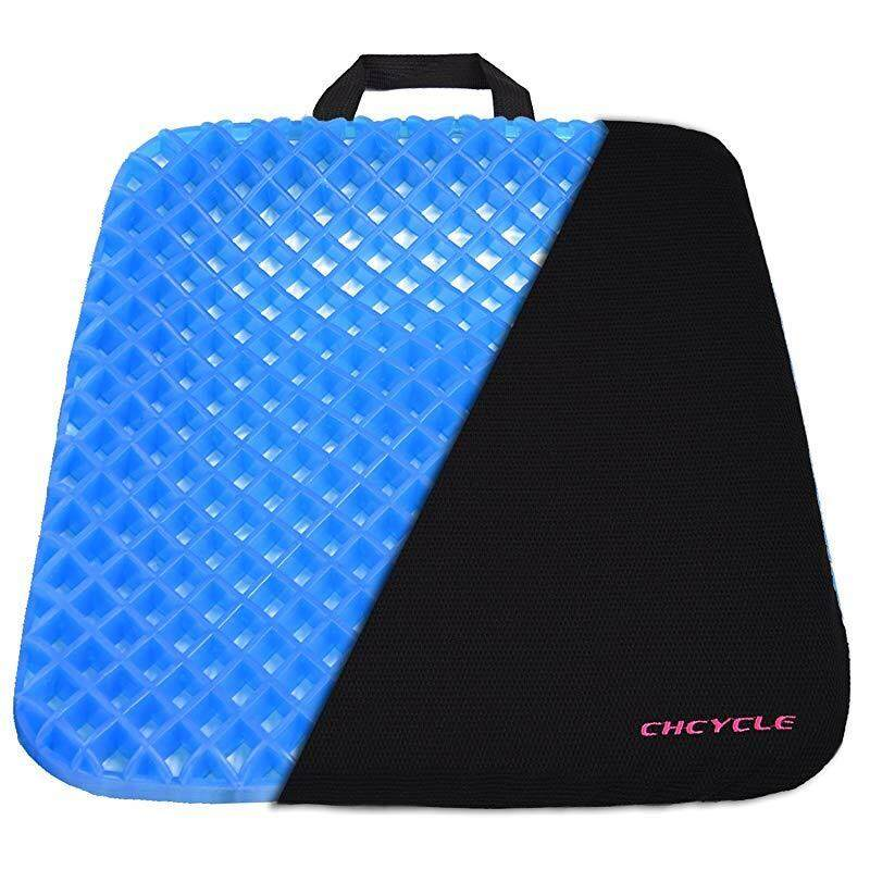 Gel Seat Cushion Coccyx Seat Support Premium All Gel Cushion Air Circulation and Advanced Elastic Cool Gel Seat Cushion Ergonomic Designed for Office Chair, Car Seat and Wheelchair Welcome Egg Test