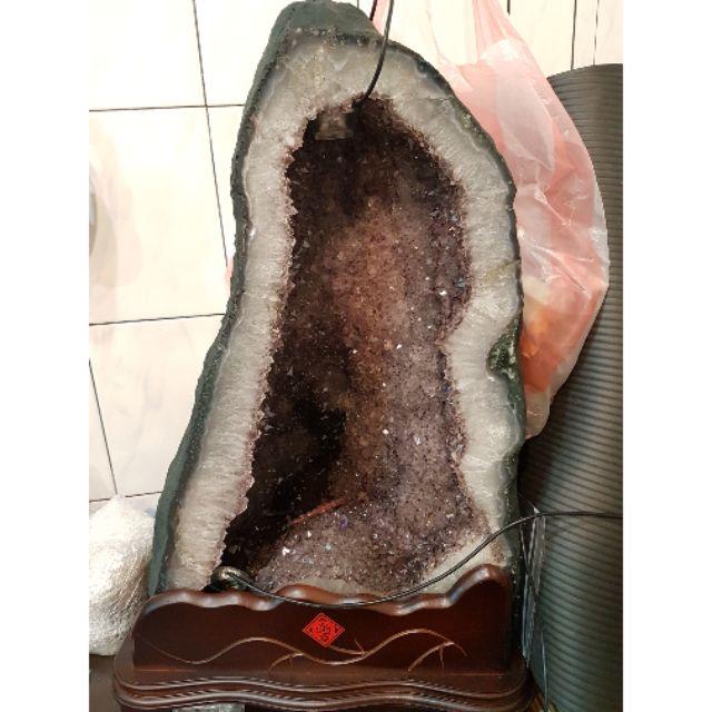 巴西 鈦晶水晶洞 紫水晶洞 迷你水晶洞 迷你紫水晶洞 水晶 紫水晶 純天然水晶洞  鈦晶洞