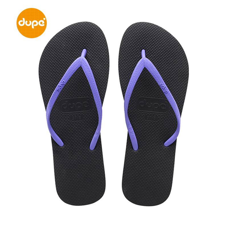 Dupe Brazil Rubber Flip-flops Female Summer Anti-slip Leisure Beach Sandals Flip-flop Flat Sandals inflooring tuo