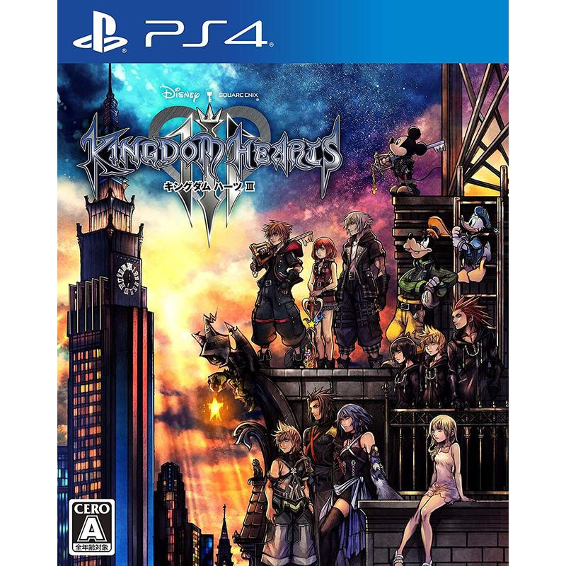 PS4 王國之心 3 KINGDOM HEARTS III 繁體中文版 預購2019/5/23