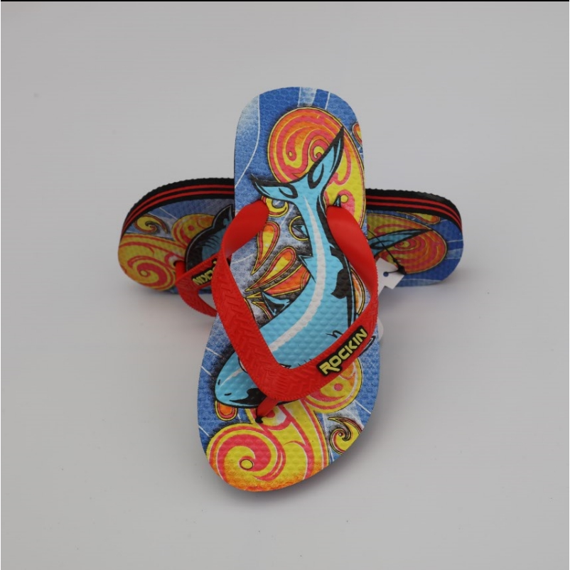 havaianas沙灘鞋☎﹊✠外貿TEK GEAR卡通兒童拖鞋夏季男童人字拖 居家涼拖休閑小孩拖鞋