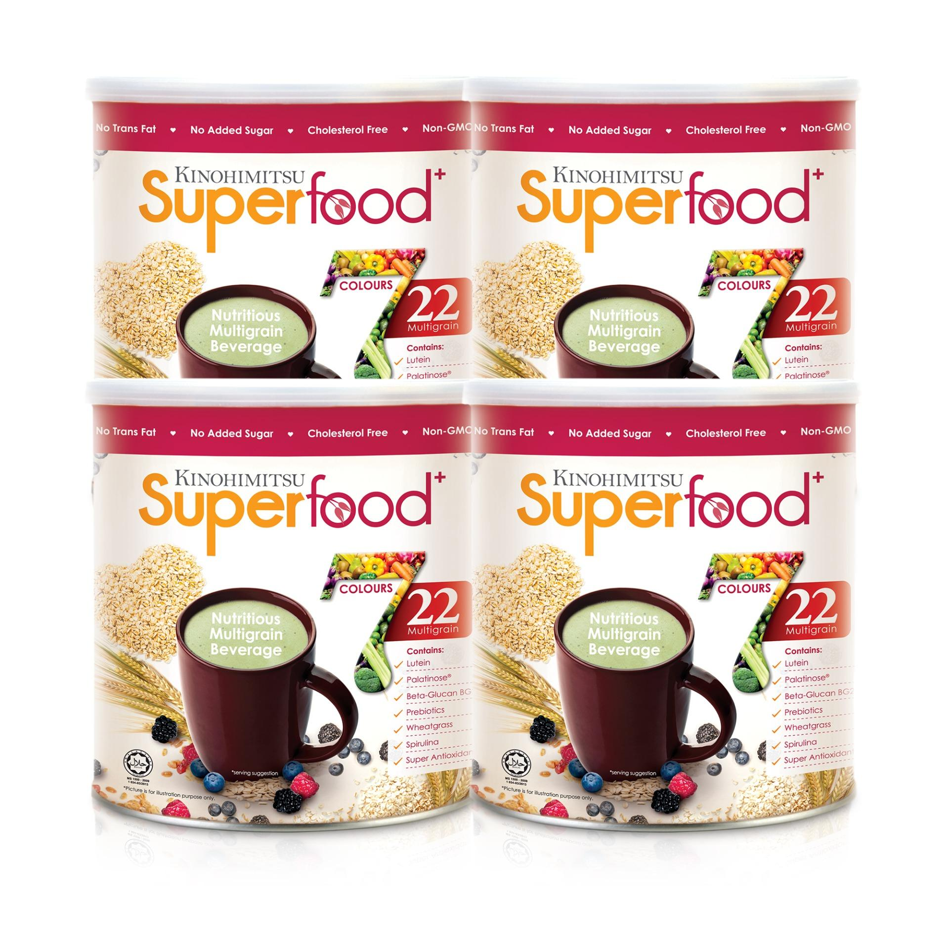 Kinohimitsu Superfood+ Tin 500g 4 Months Supply