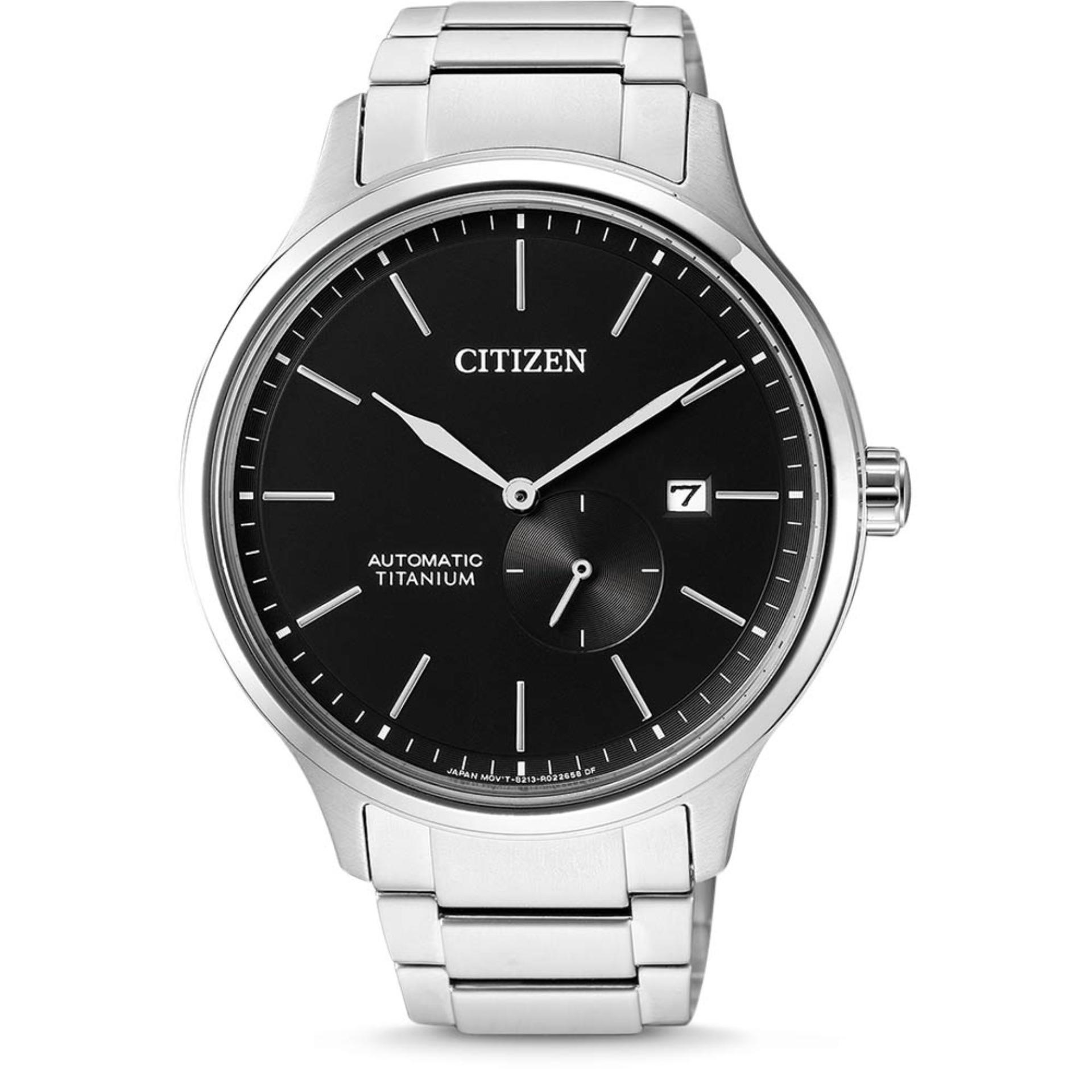 Citizen Automatic Titanium Watch with Titanium Bracelet NJ0090-81E