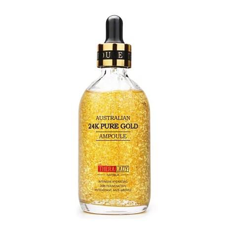 澳洲THERA LADY 大金瓶24K黃金精華液 100ml
