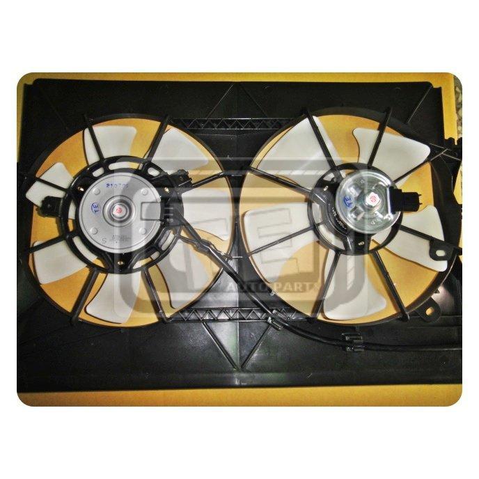 豐田 TOYOTA WISH 04-09年 水箱風扇+冷氣風扇 水冷扇 含塑框 日本馬達 台製外銷