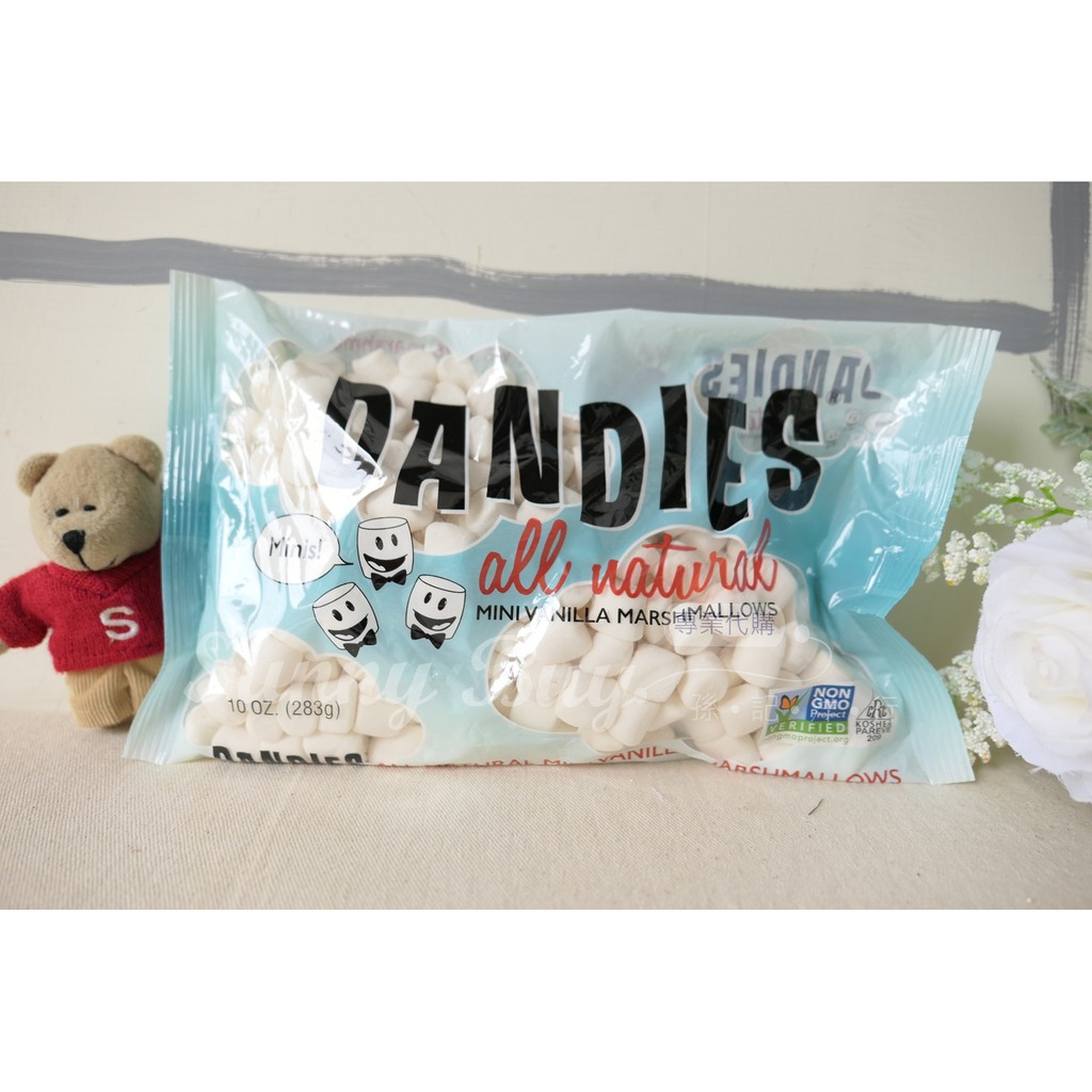 【Sunny Buy】◎3包預購◎minis小顆 Dandies Vegan 香草 純素食 棉花糖 不含明膠283g