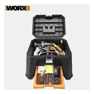 Worx Hydroshot: Stool Storage Box