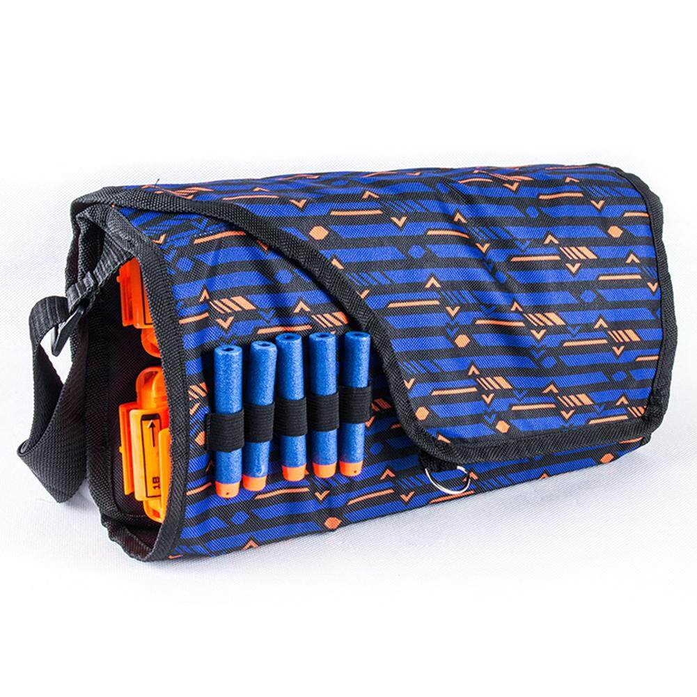 RD Children Military Toy EVA Bullet Storage Bags Kids Tactical Equipment Gun Accessories Multifunctional Large Capacity Clips Pouch For Nerf Gun
