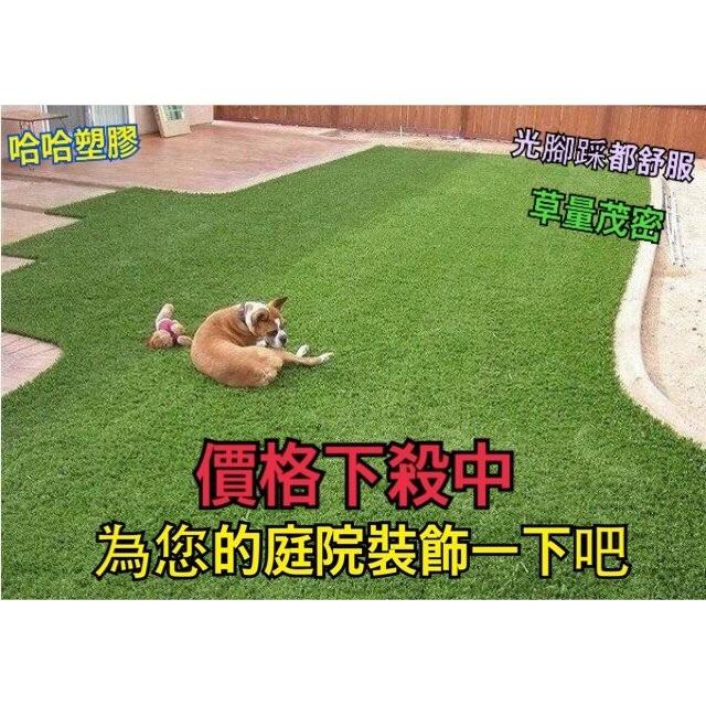 哈哈塑膠 進口高品質 仿真草皮 假草 人工草皮 草地毯 人造草皮 塑膠草皮 零剪1CM=5元