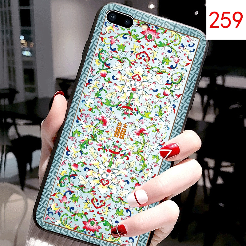Back Case For Huawei Nova 2 2s 2plus 2lite Cover Soft TPU Painted Emboss Palace Style