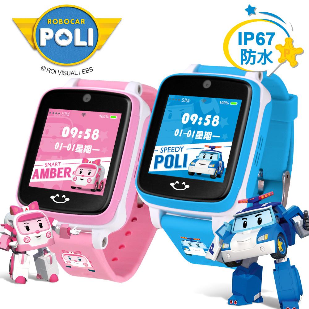 ROBOCAR POLI 波力安寶 IS愛思 4G LTE定位防水兒童智慧手錶