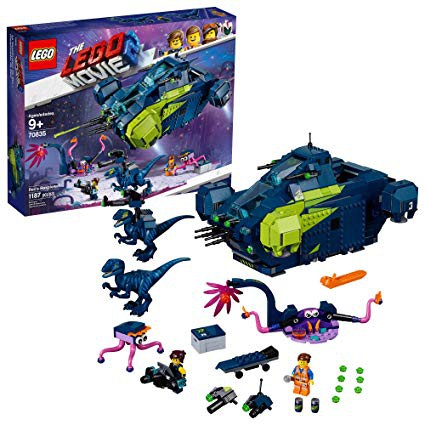 現貨  樂高  LEGO  70835 MOVIE 電影系列   雷克斯的戰鬥飛船 全新未拆  原廠貨