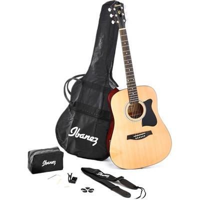 【老羊樂器店】 Ibanez V50NJP D桶(VS)/OM桶(NT) 41吋 民謠吉他 兩色 木吉他 吉他