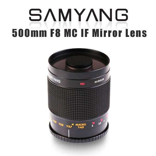 【東京360】預購中! 平輸 Samyang 500mm F8 MC IF Mirror Lens 反射式鏡頭
