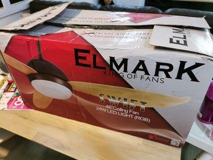 """Elmark Ceiling Fan 46"""""""