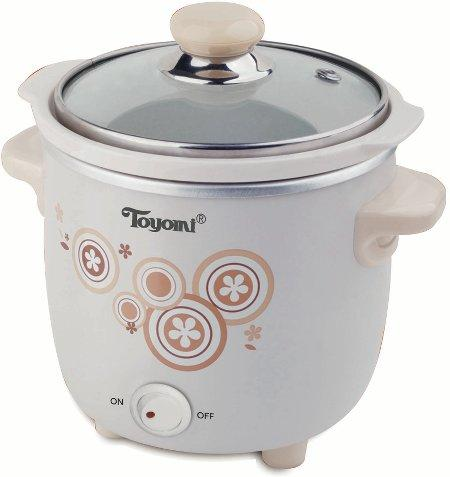 Toyomi  0.7L Electric Baby Slow Cooker  SC SC700  1 Year Warranty