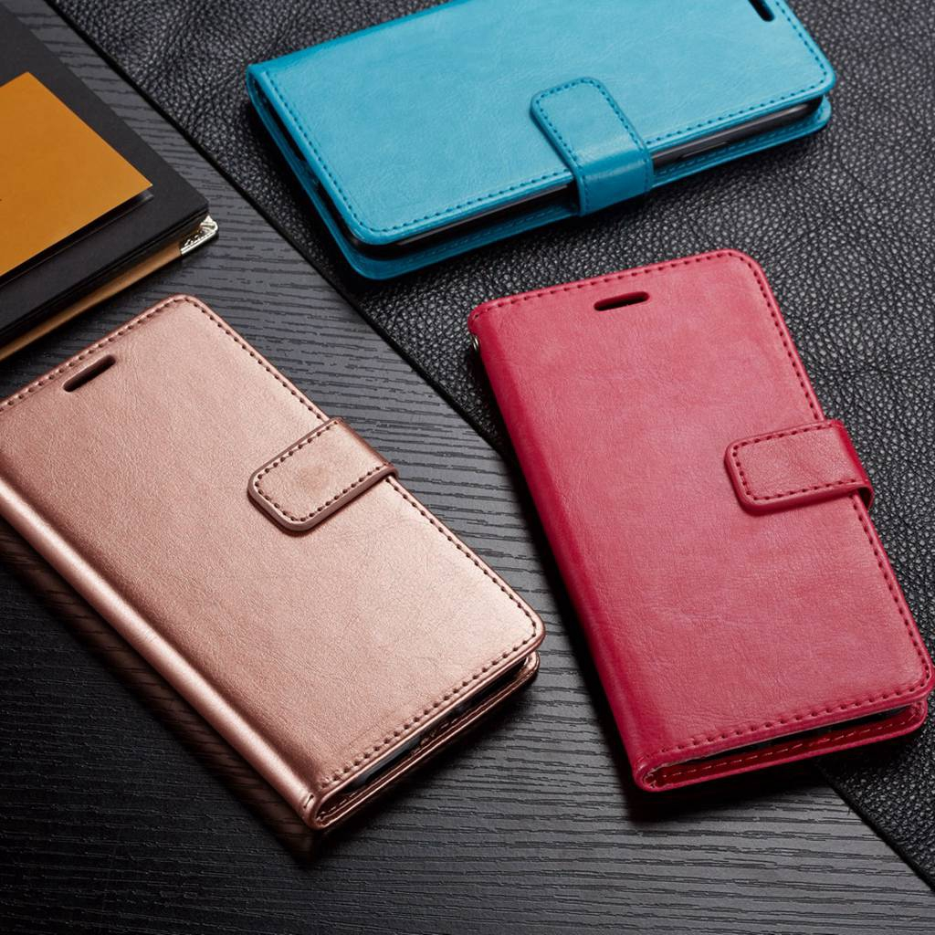 Casing Oppo R11 R11PLUS R11s  11s Plus PU Leather Cover Card Slot Phone Cases