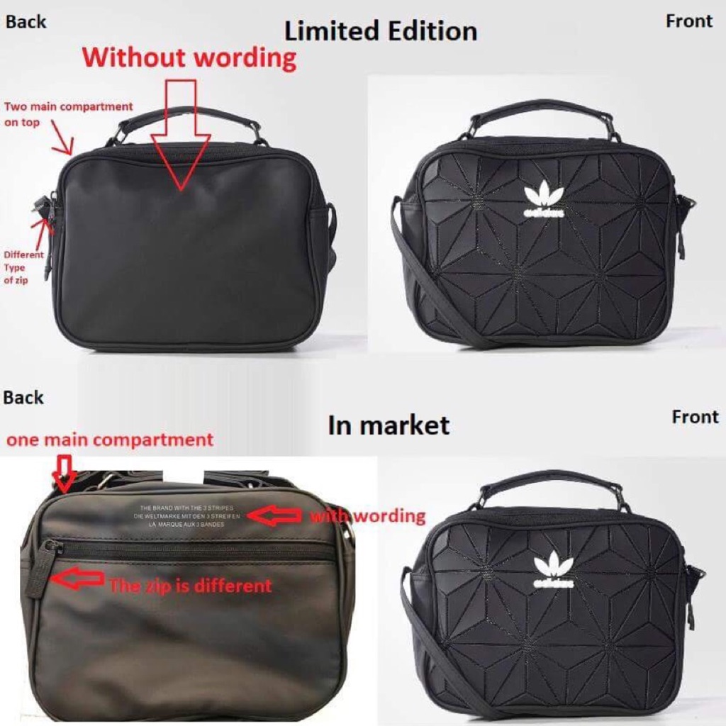 Limited Edition Adidas Mini Airliner Bag(Made in Germany)(Comes with receipt)