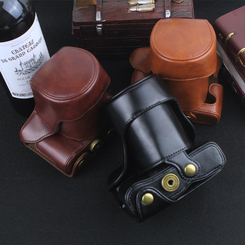 Fuji Mirrorless Camera Leather Case XT10/Natural 20 XE3 XA5 XA3 XA10 XA20 XA2 XE2s One-Shoulder Bags