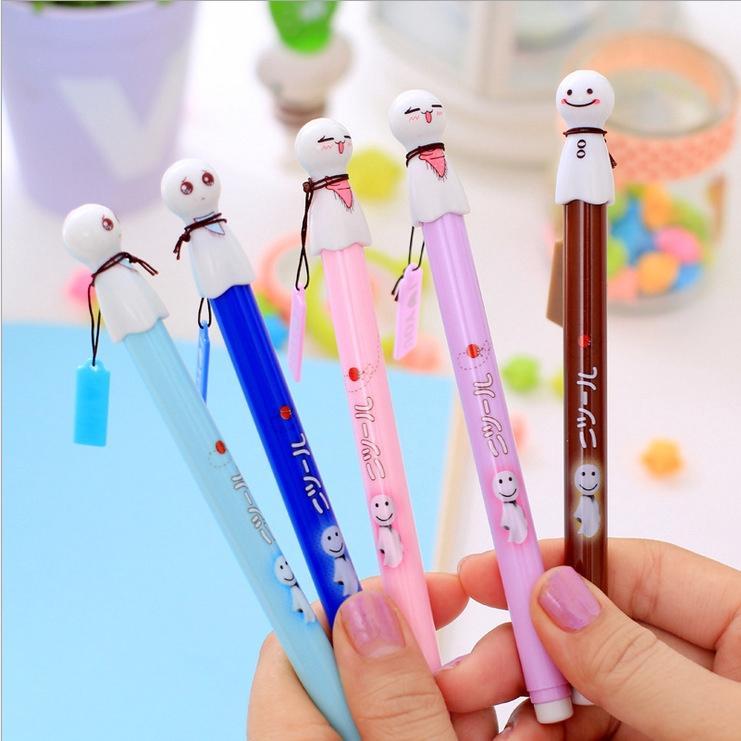 🔆晴天娃娃造型筆🔆 韓國文具 可愛 原子筆 中性筆 水性筆 學生文具 婚禮小物 辦公簽字筆 辦公用品