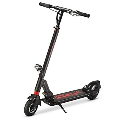 Electric Scooter, GBTIGER A3 Two-wheel Portable Folding Scooter with LCD Battery Display Unisex Self