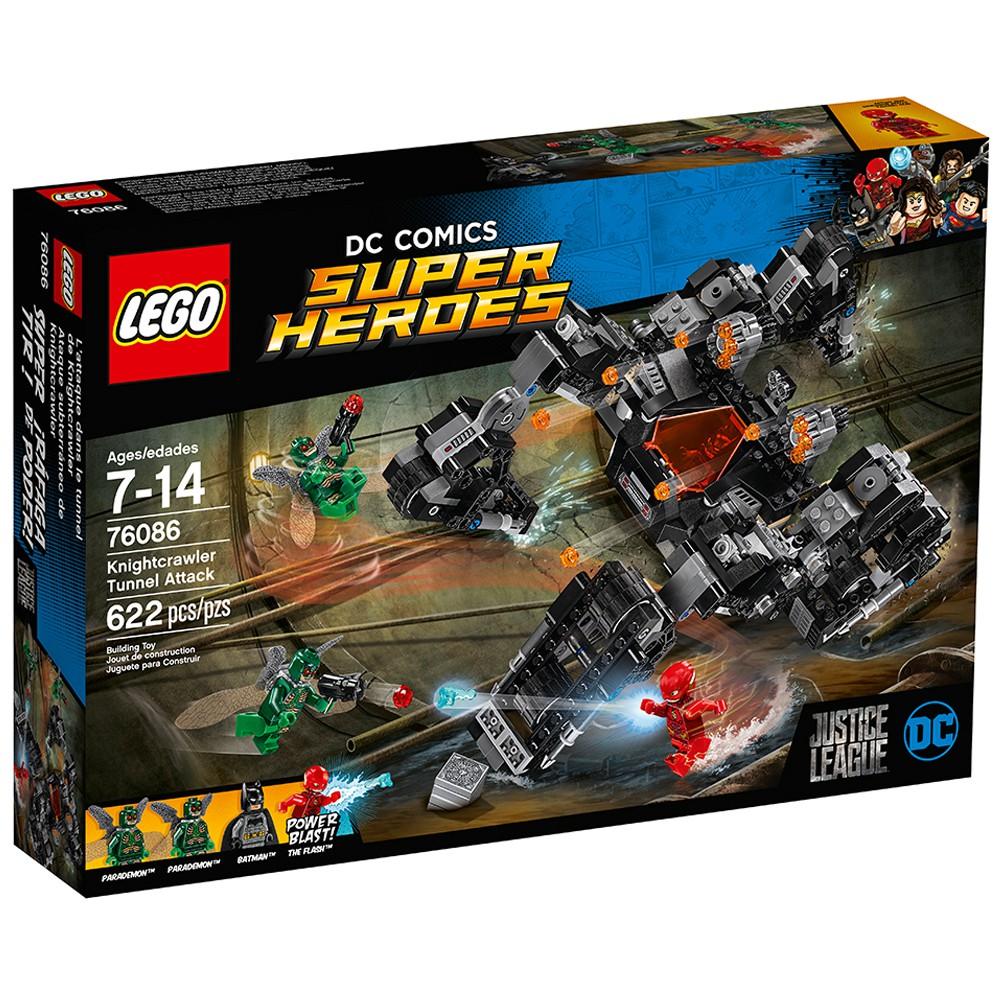 【Lego777】LEGO 76086 Super Heroes 樂高  蝙蝠俠/閃電俠/夜行者地下隧道進攻  現貨