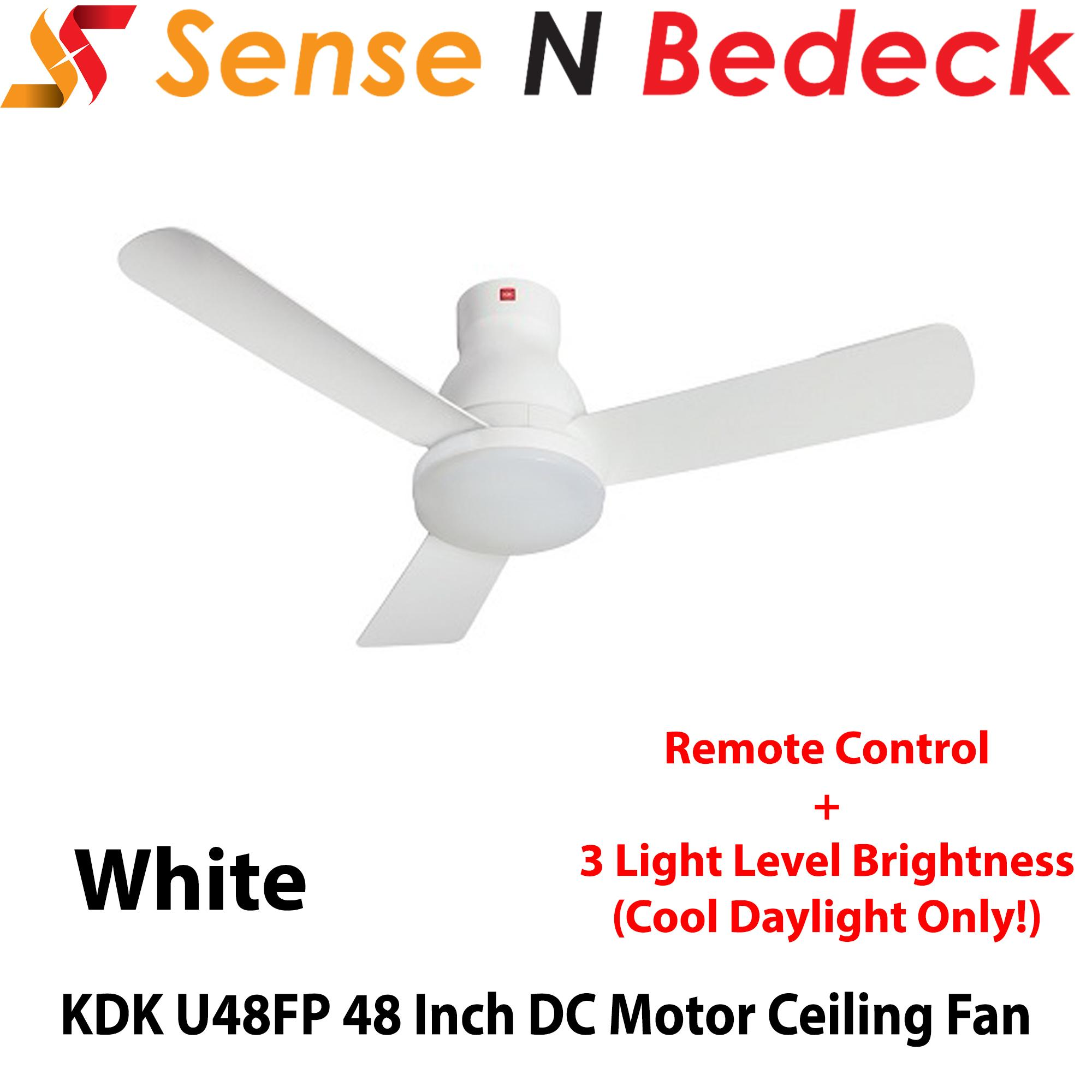 KDK U48FP 48 Inch LED DC Motor Ceiling Fan