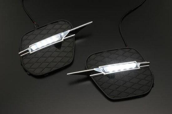 BMW E70後半期X5大馬力LED日燈//2010y~ revier