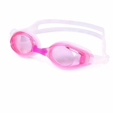 Swimming Goggle No Leaking Swim Goggle Swimming Goggles Anti Fog With Delicate Protection Case for Adult Men Women Youth Kids Child (Pink) - intl