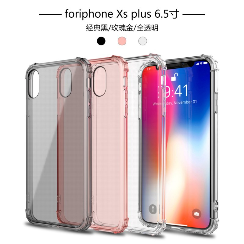 3 Colors Clear Back Cover Anti Shock Knock Soft Silicone TPU Case For Huawei P30 P20 PRO P20 Lite Nova 4e 3e Huawei Mate 10 10 pro  Mate 10 Lite /Nova 2i  p10 Lite  Enjoy 7 plus/y7 prime  Protective