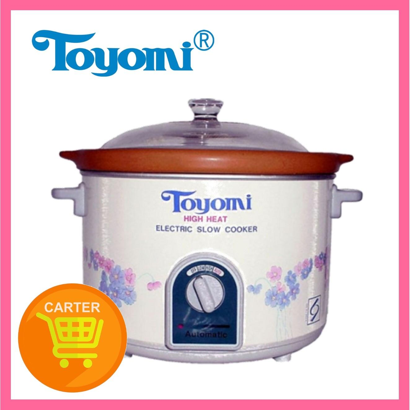 Toyomi HH 5500A Slow Cooker with High Heat Pot 4.7L