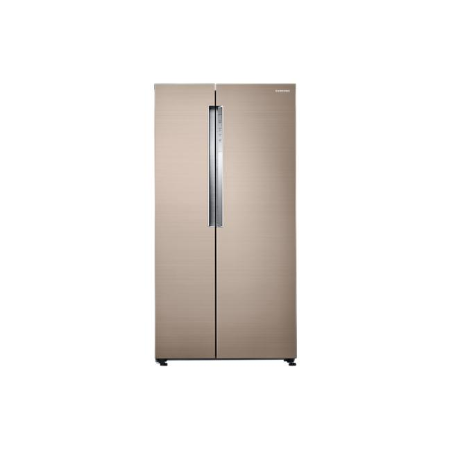 Samsung RS62K61A17P/SS Twin Cooling Plus Side by Side Refrigerator (620L)