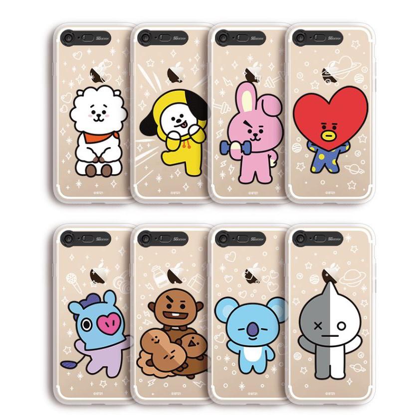 KPOP BTS official product BT21 phone case(Light Up)