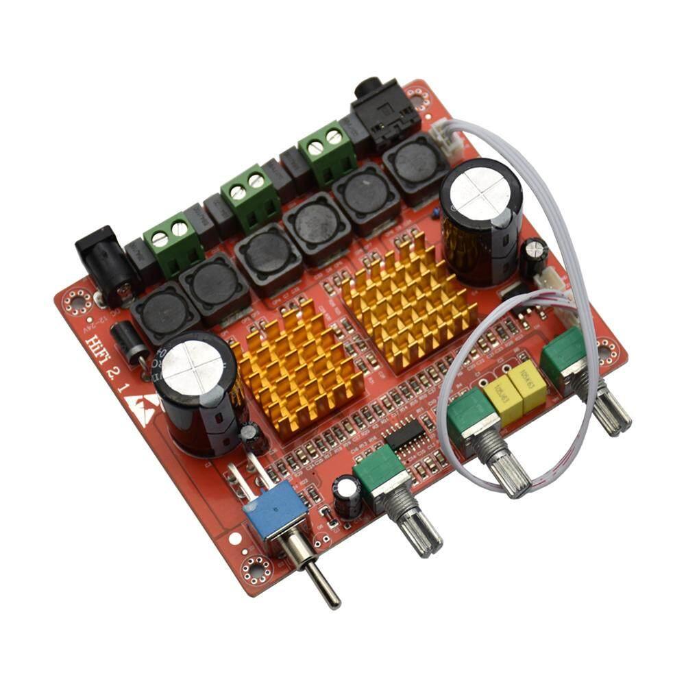 TPA3116D2 2.1 CH Class D 100 W + 50 W + 50 W HIFI ซับวูฟเฟอร์แบบดิจิทัลบอร์ดแอมป์ขยายเสียง