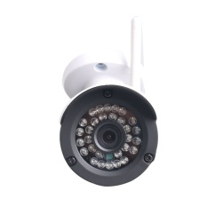 Z-BEN-IR53 960P/1.3MP AHD Camera.30Meter Night Vision Security Camera.3.6mm Lens 36pcs Leds CCTV Camera w/ IR CUT. Only Work w/ AHD Hybrid DVR(Aluminum Alloy White) - intl
