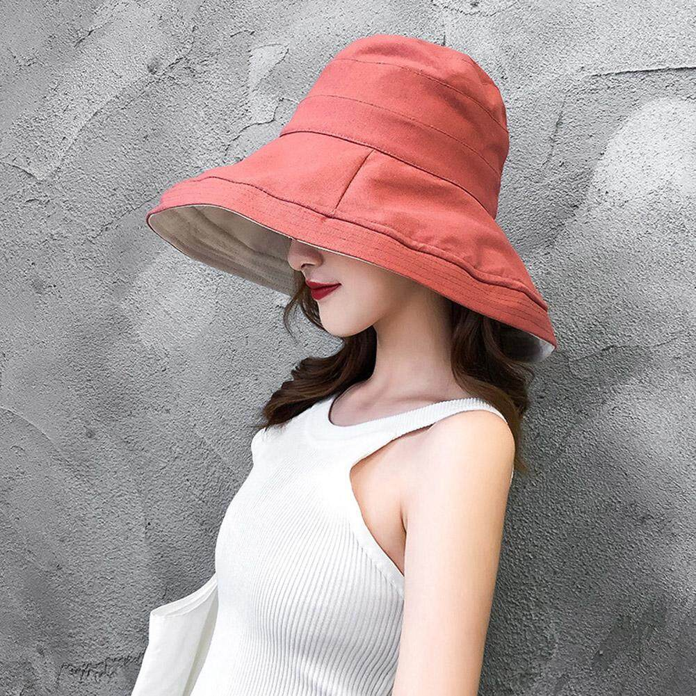 Ladies Sun Hat Summer Womens Wide Brim Packable Hat UV Protection