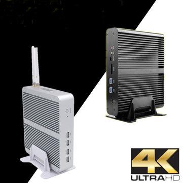 Eglobal Mini Pc Computer I7-7260U 32GB+512GB 32GB+1TB Win10 Dual Core Intel Iris Plus Graphics 640 2*DDR4 Msata+M.2 SSD Micro PC Fanless HTPC Nuc VGA HDMI