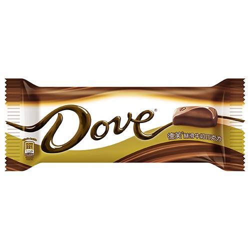 德芙絲滑牛奶巧克力80g【愛買】