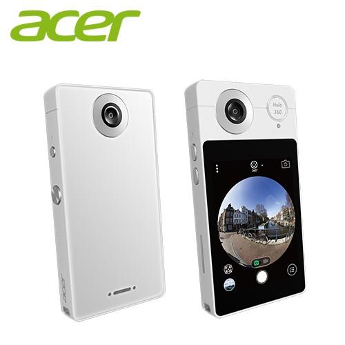 Acer HoLo 360智慧型全景相機 月光白 附防水包、收納包 全新 限量3台
