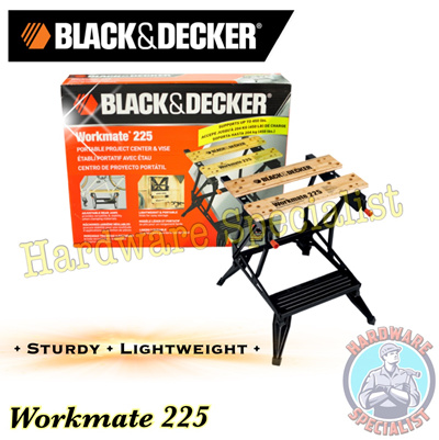 Black And Decker Workmate 225 Work Bench / Work Station Vise