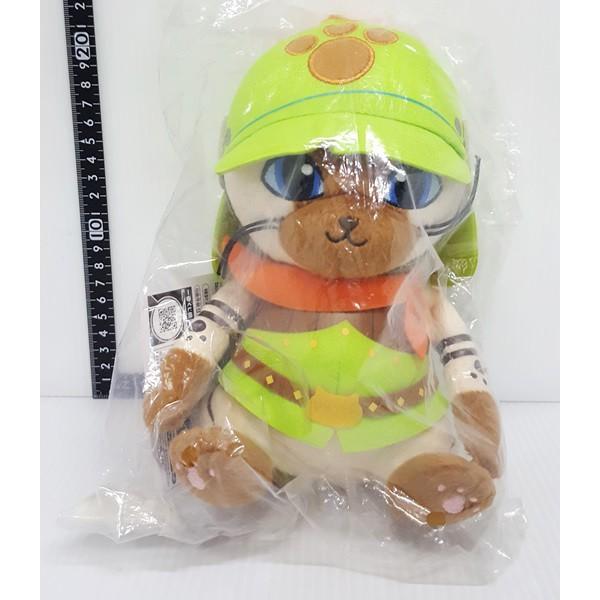 【日本正版】 MONSTER HUNTER 魔物獵人 Airou 艾露貓 Brave系列 一番賞 E賞 玩偶 絨毛娃娃