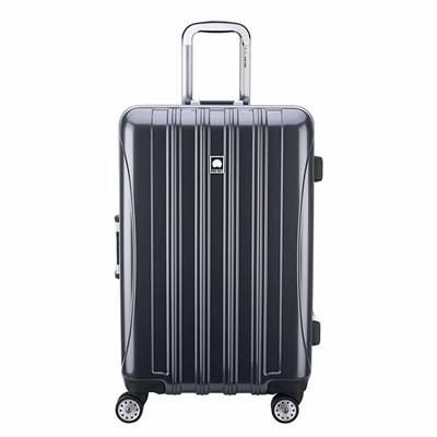 DELSEY Paris Delsey Luggage Helium Aero, Medium Checked Luggage, Hard Case Spinner Suitcase, Brick R
