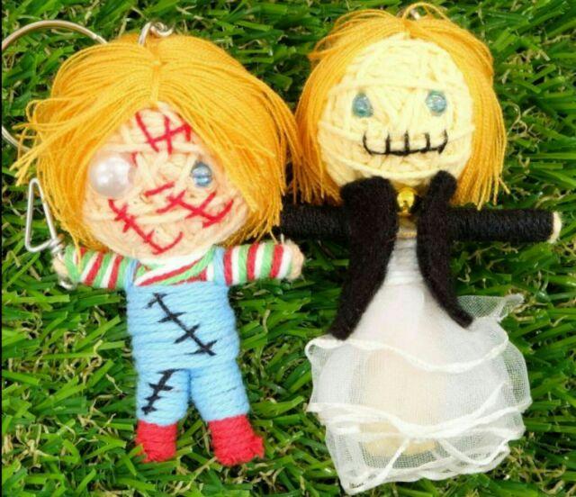 #暹邏貓泰泰 泰國 殺人娃娃 恰吉 恰奇 鬼娃新娘 手工創意鑰匙圈 吊飾 巫毒娃娃 #暹邏貓泰泰