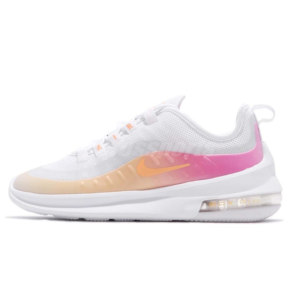 Nike 慢跑鞋 Wmns Air Max Axis PREM 白 橘 氣墊  女鞋 BQ0126-101 【ACS】