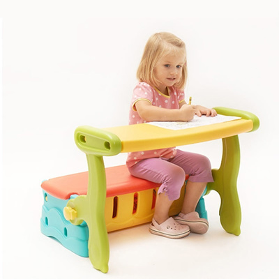 CHILDREN STORAGE SEAT / DRAWING TABLE / STUDY TABLE / CHAIR / TOY