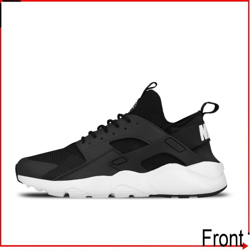 Front前線 Nike Air Huarache Run Ultra 819685-001 黑武士 三代 黑白 男女